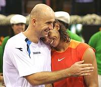 Nadal and Ljubicic: BFF